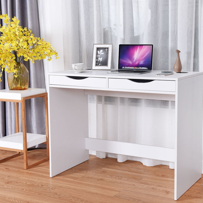 Modern Writing Bluetooth Speakers Drawer USB Computer Desk