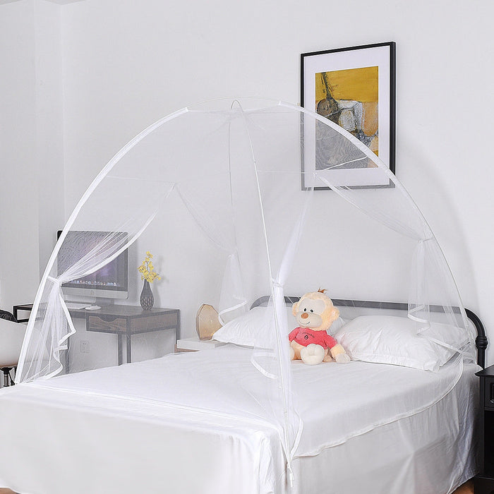 Portable Folding Anti Zipper Bed Mosquito Net