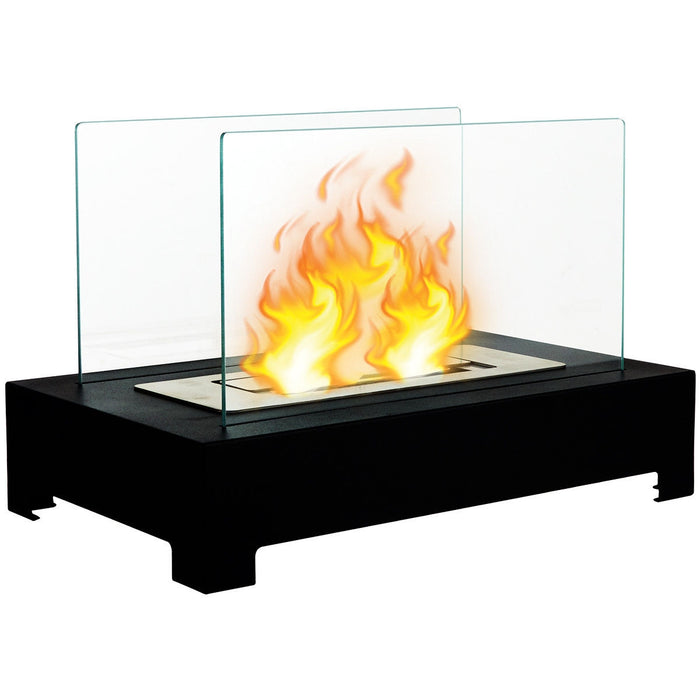 Stainless Steel Portable Tabletop Ventless Bio Ethanol Fireplace