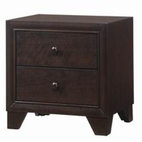 2 Drawers Sofa Beside Storage Organizer Nightstand