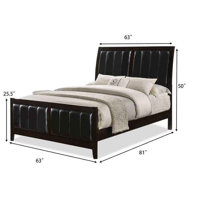 Tall Headboard Upholstered Platform Bed Frame