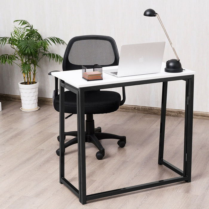 Folding Computer Laptop PC Writing Study Desk Table