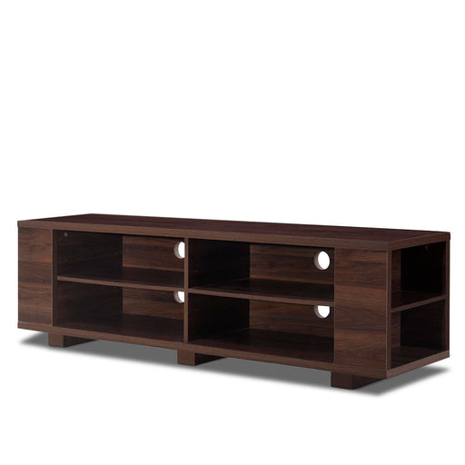 "59"" Console Storage Entertainment Media Wood TV Stand"