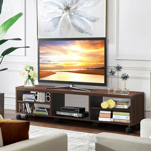 TV Stand Unit Media Center Console Shelf Cabinet