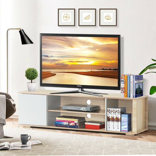 "TV Stand Entertainment Media Center Console Shelf Cabinet Hold up to 60"" TV"