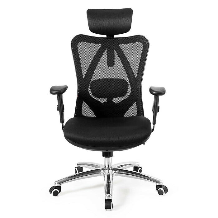 Adjustable Height Mesh Swivel High Back Office Chair