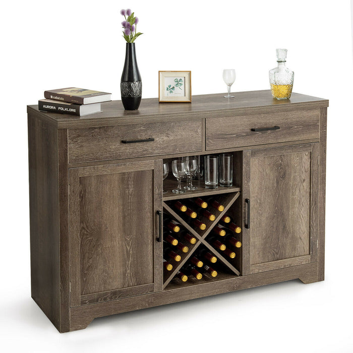 Sideboard Console Storage Cabinet side Cabinet With Two Drawers