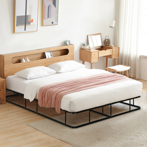 9 Inch Platform Low Profile Bed Frame Steel Slat