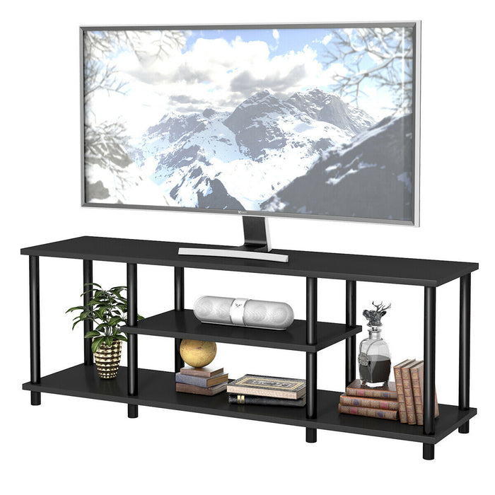 3-Tier TV Stand Entertainment Media Center Console Shelf