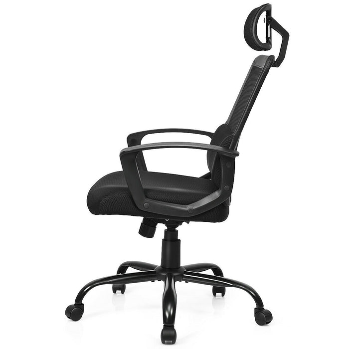 Mesh Ergonomic Office Chair Massage Lumbar Support and Swivel