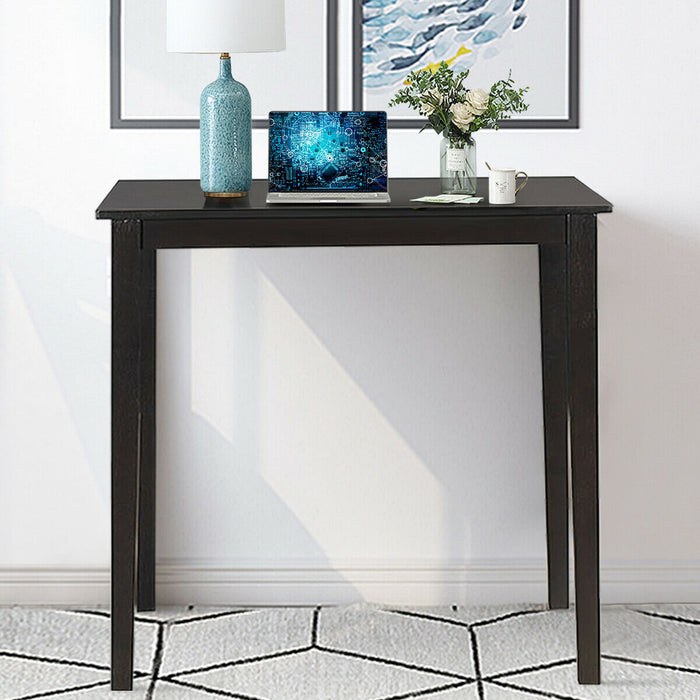 Square Rubber Wood Dining Table