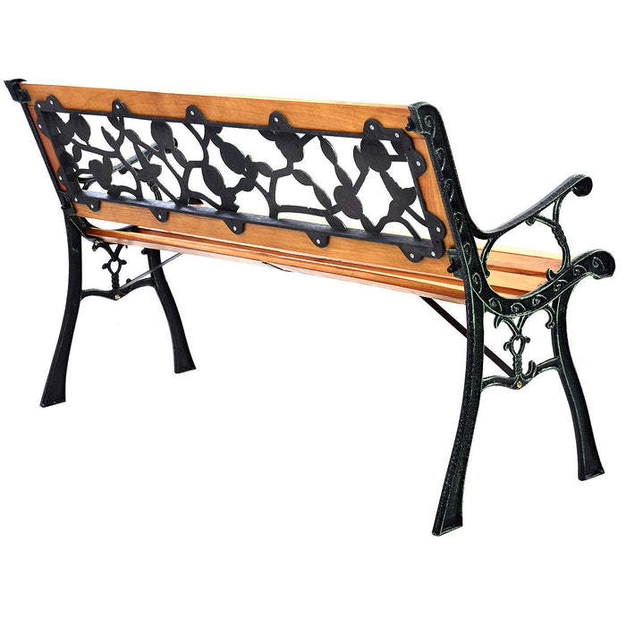 "GOPLUS 49 1-2"" Patio Park Garden Porch Chair Bench"