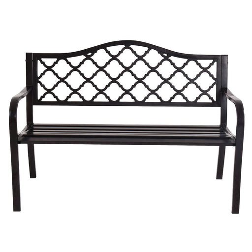 "50"" Patio Garden Bench Loveseats"