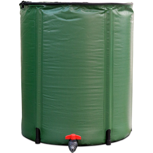 53 Gallon Portable Collapsible Rain Barrel Water Collector