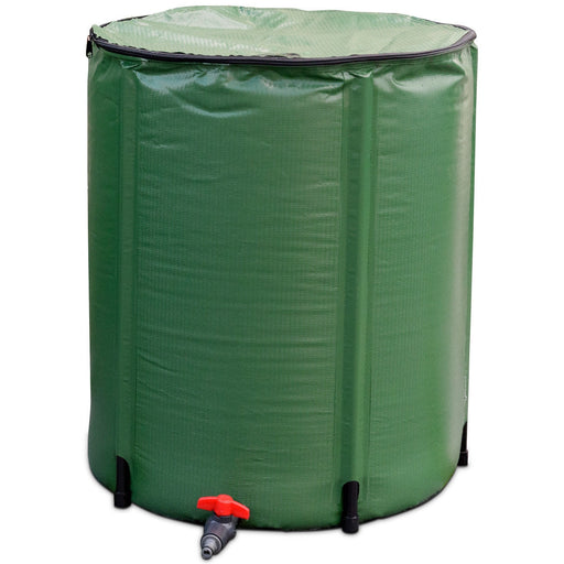 60 Gallon Portable Collapsible Rain Barrel Water Collector