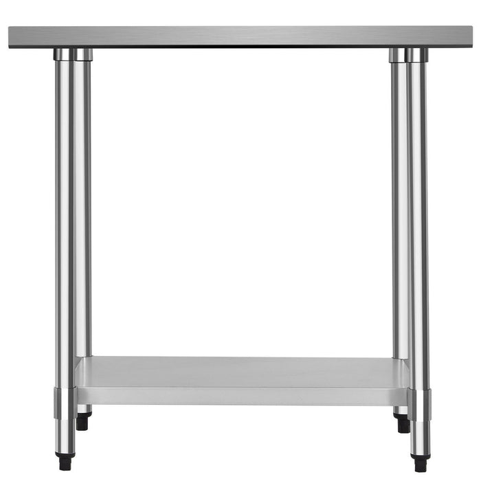 "24"" x 36"" Stainless Steel Commercial Kitchen Food Prep Table"