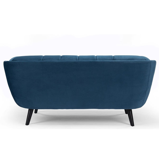 Lucas 2-Seater Sofa - Blue Velvet