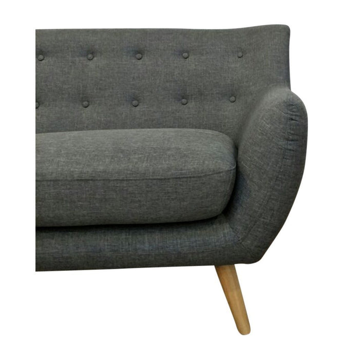 Ebba 3-Seater Sofa - Grey