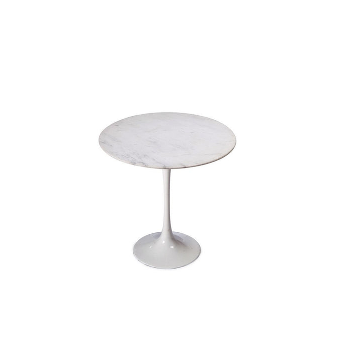 Tulip Side Table - Marble Top - Reproduction
