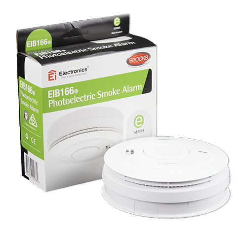 Photoelectric 230-volt Smoke Alarm with 10-year Lithium battery back-up