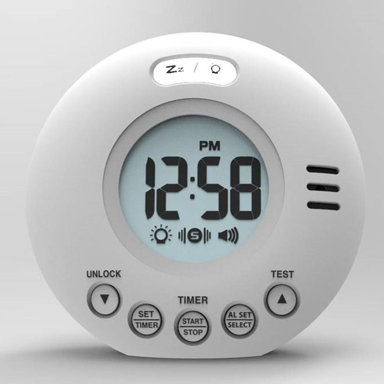 Voyager Wake n Shake Travel Alarm Clock
