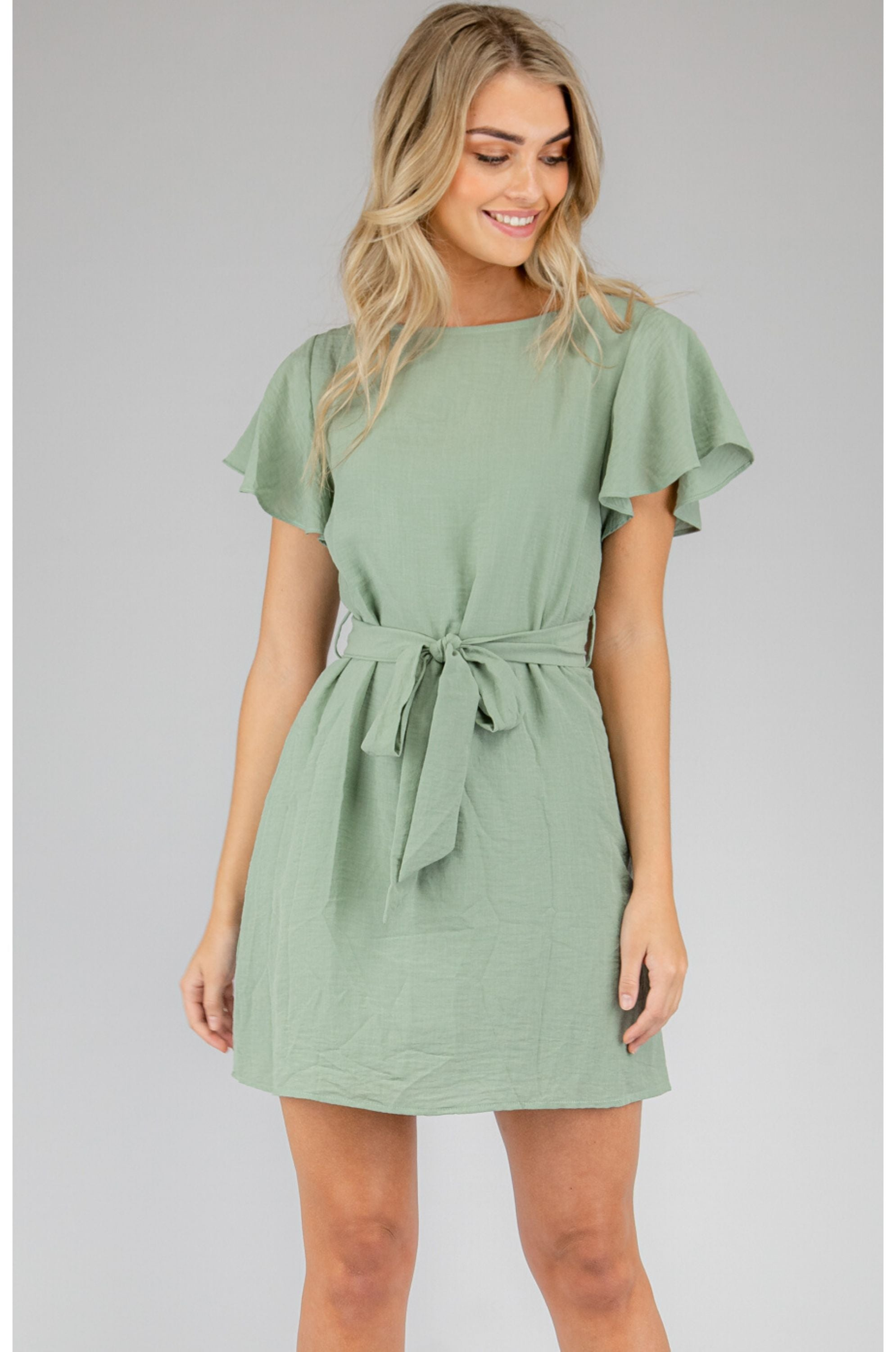 Rudi Mini Dress Mint