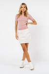 Bianca Knit Top - Blush