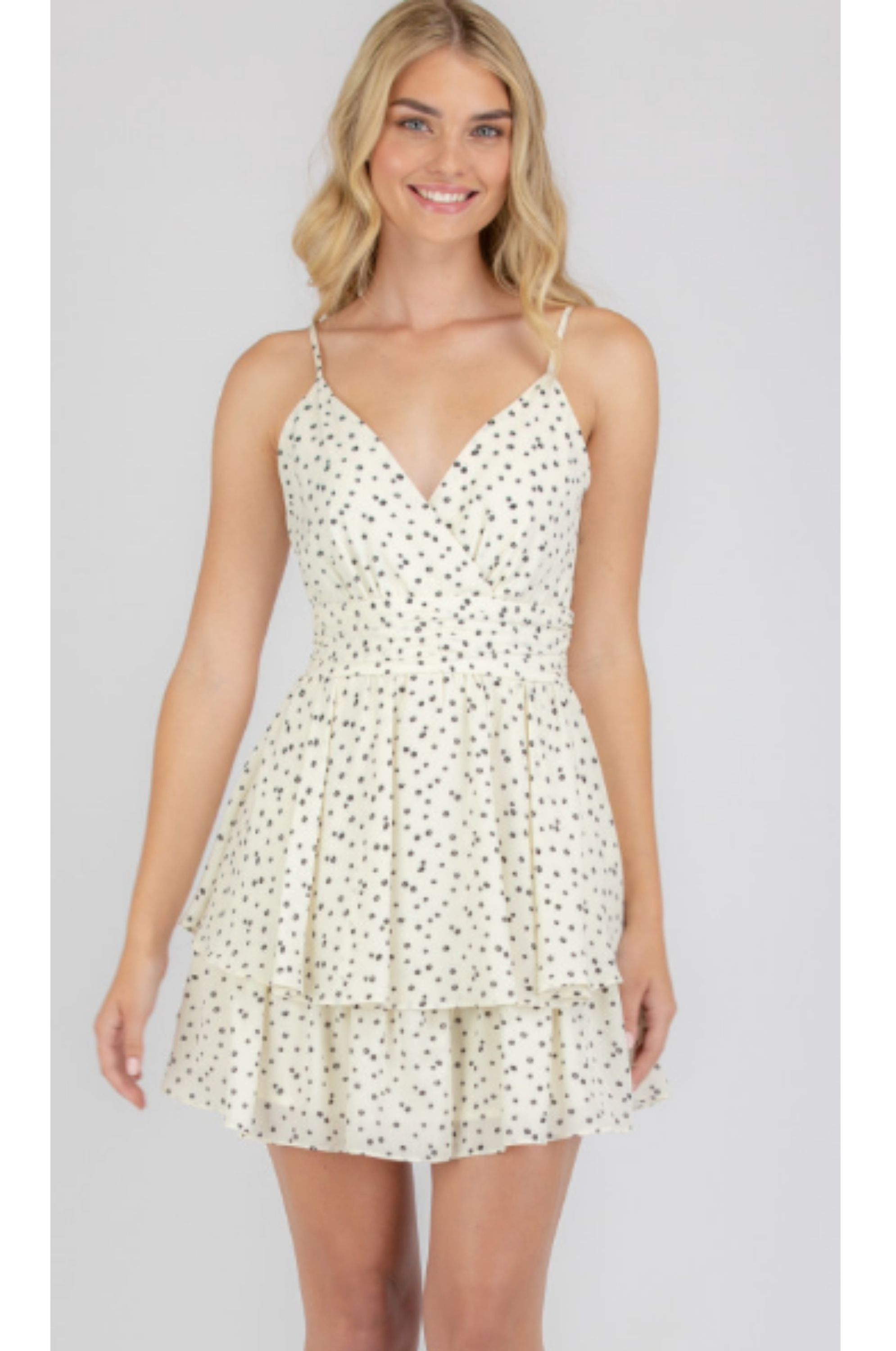Jasmine Mini Dress White