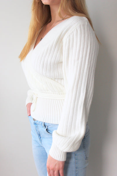 Dina Knit -  White
