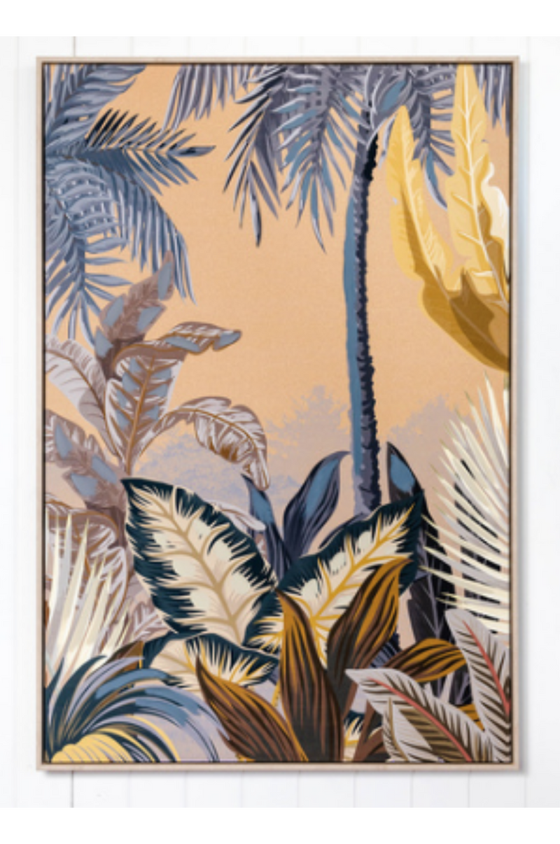 Exotic Oasis - Canvas Print