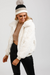Hallie Fluffy Jacket - White