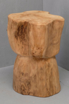 Maia Bulb Tree Stump Stool