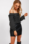 Ricki Spot Long Sleeve Top