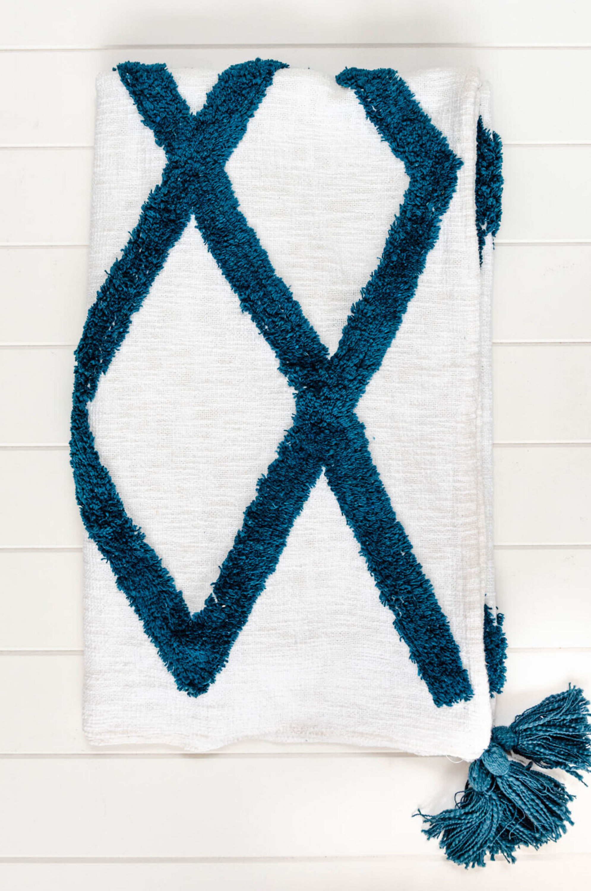 Rohini Throw Blanket - Teal