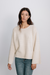 Sabine Patterned Knit - Beige