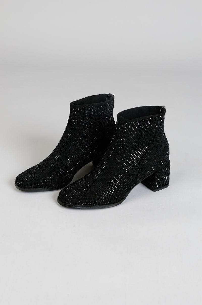 Hot Shot Disco Boots - Black