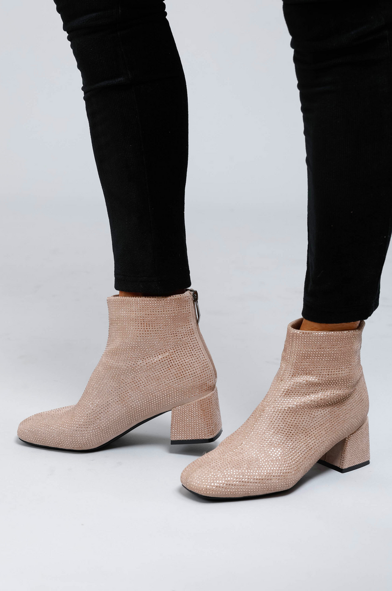 Hot Shot Disco Boots - Gold