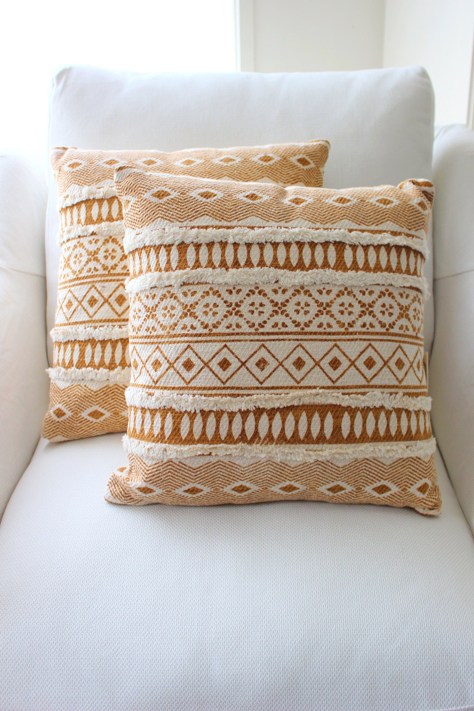 Sibel Cushion - Wheat