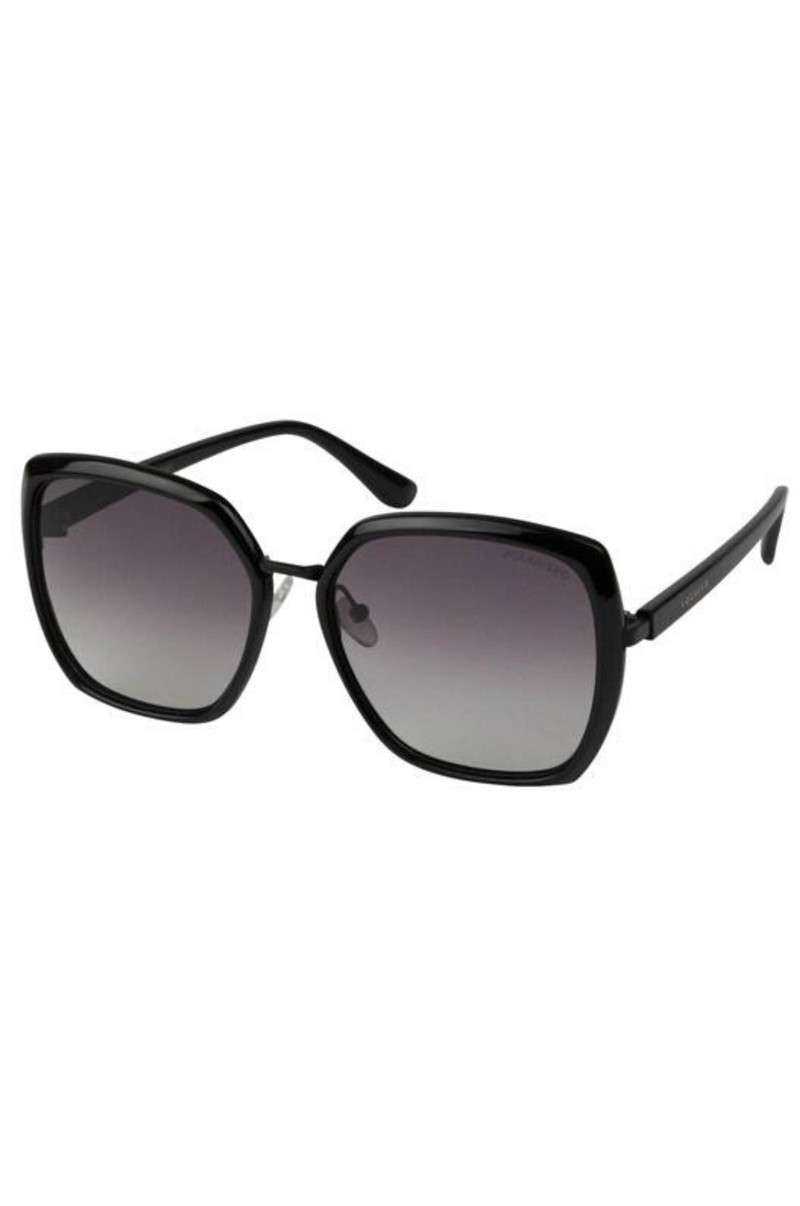 Amber (Black) - Locello Sunglasses