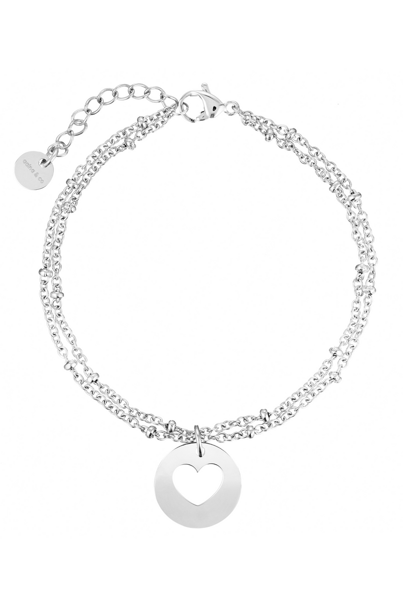 Aaina - Heart Ball Necklace