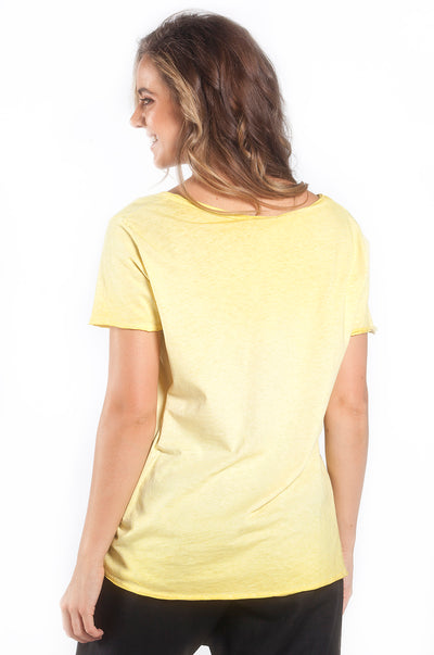 Mademoiselle T-Shirt Yellow