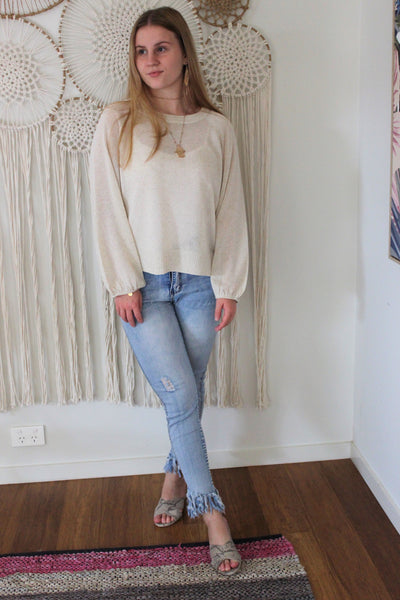 Otis Knit - Beige