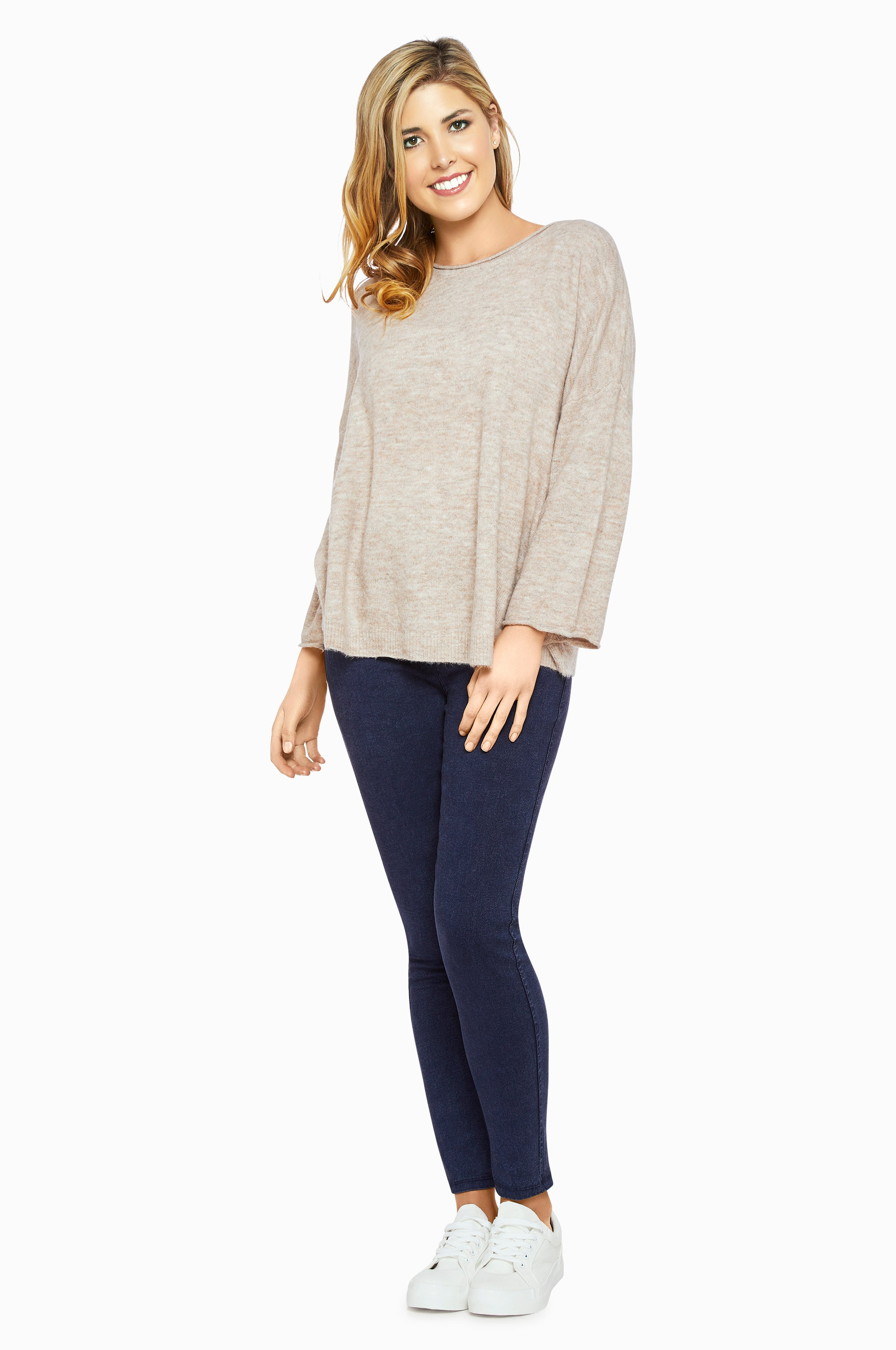 Jindy Beige Knit