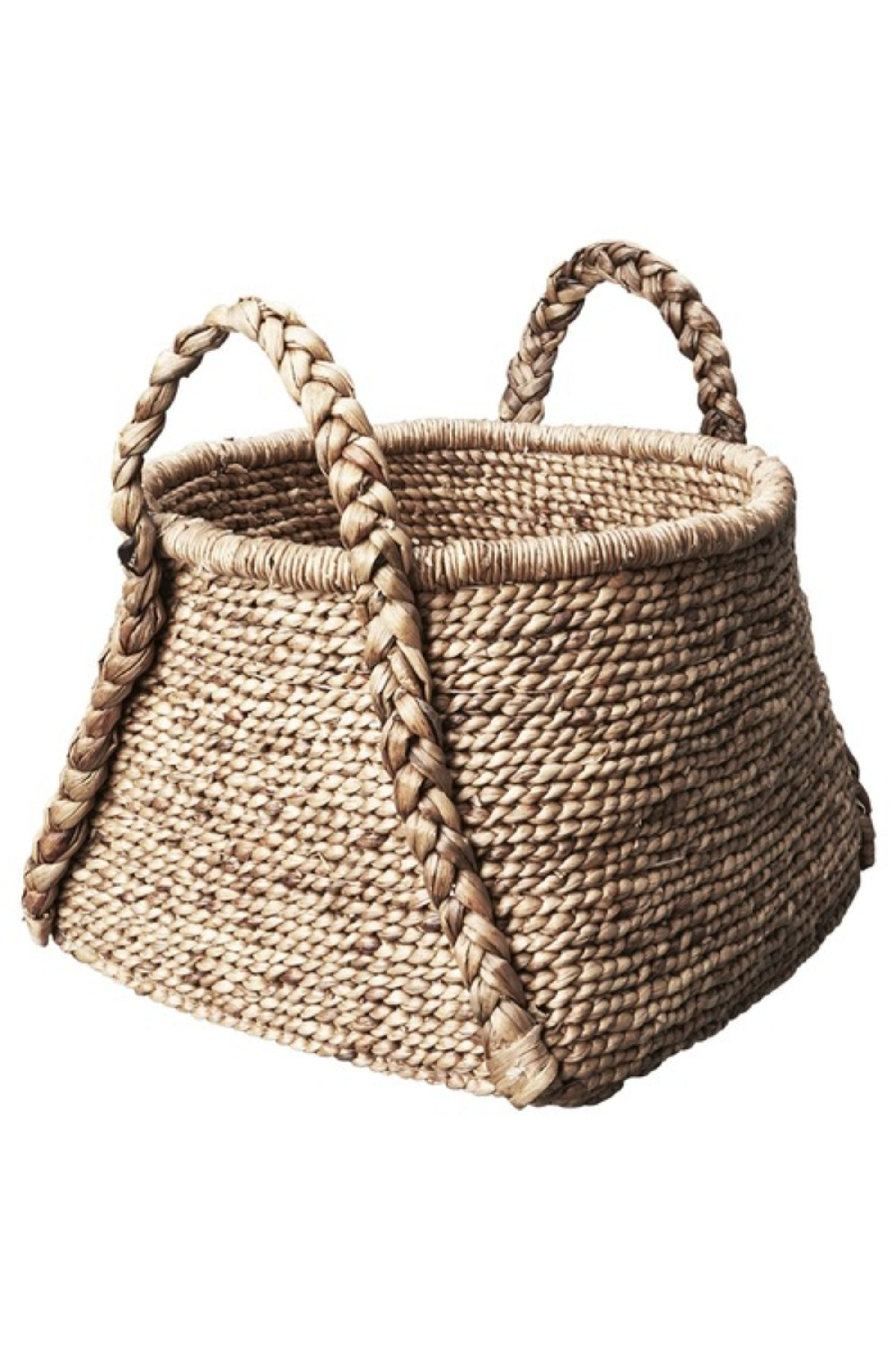 Harwood Plaited Basket