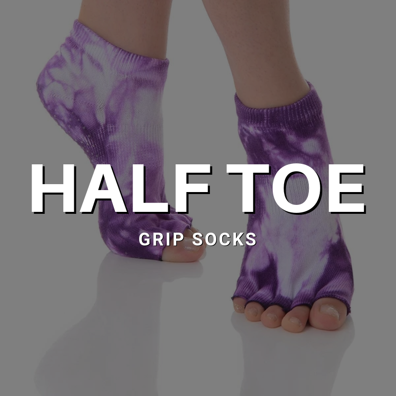 Half Toe Grip Socks