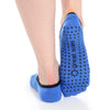 Jules Ballet Grip Sock - Cobalt/Black