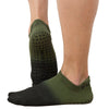 Ombre Grip Sock  - Olive Black