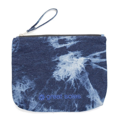 Studio Clutch - Washed Denim