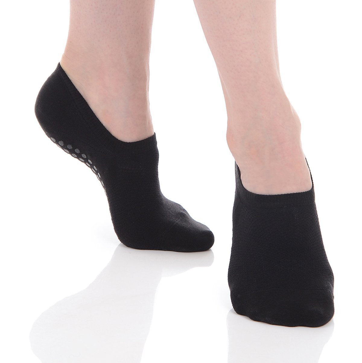 Kaia Low Cut Grip Sock - Black