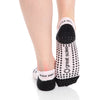 Keira Leopard Grip Sock - Pink/Black